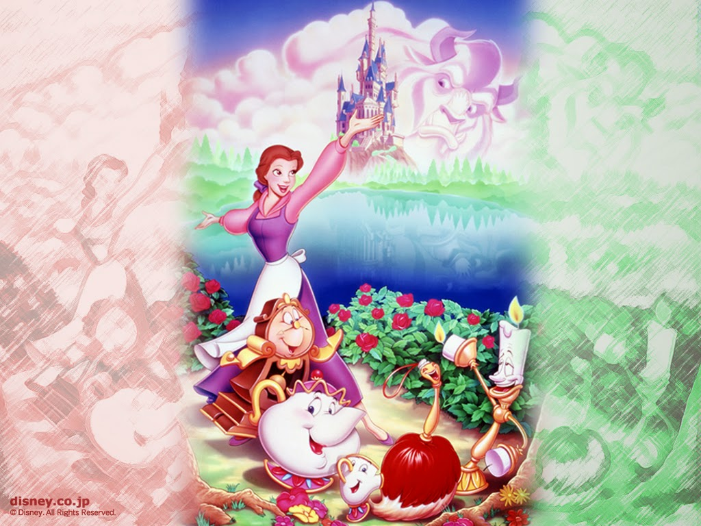Free Desktop Wallpaper Disney Beauty And The Beast Wallpaper