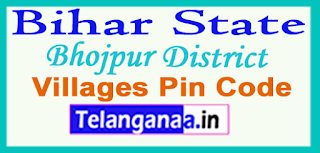 Bhojpur District Pin Codes in Bihar State