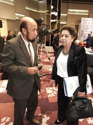 بعد أن تم اختيارها   كأول قاضية عربية فى المحكمة الجنائية الدولية   القاضية الأردنية د/ تغريد حكمت فى حوار خاص