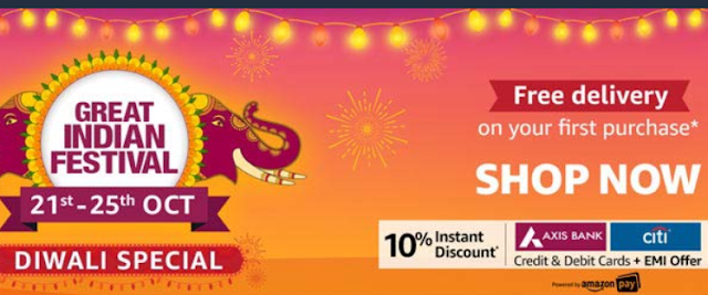 Great Indian Festival sale Buy Everything you need this Diwali season