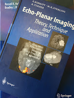 Echo-Planar Imaging: Theory, Technique and Application, edited by Schmitt, Stehling, and Turner, superimposed on Intermediate Physics for Medicine and Biology.
