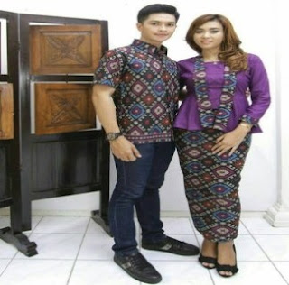 Model Batik Couple Untuk Ke Pesta