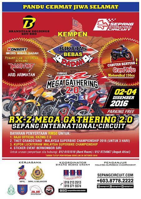Event RXZ Mega Gathering 2.0 | 2-4 Disember 2016