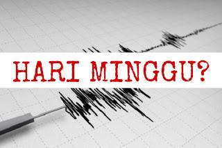 Potensi Gempa di Selatan Lombok Minimal 9 SR, Hari Minggu Jadi Buah Bibir