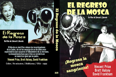 Carátula dvd: El regreso de la mosca (1959) Return of the Fly