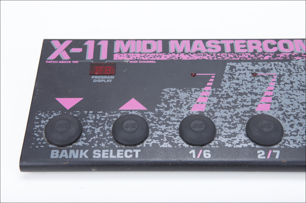 MATRIXSYNTH: ART X-11 MIDI master controller foot pedal