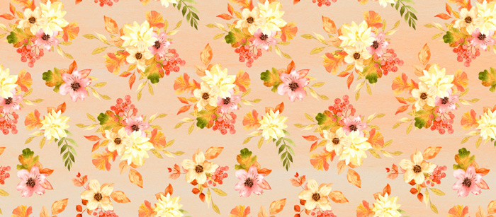 Fall Florals Facebook Cover