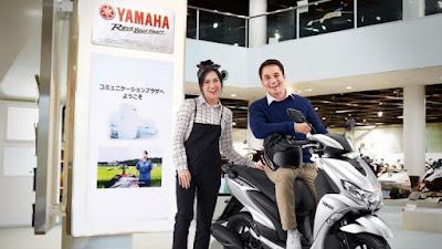 Semakin Keren, Begini Penampakan Yamaha FreeGo S Version dengan Warna Baru