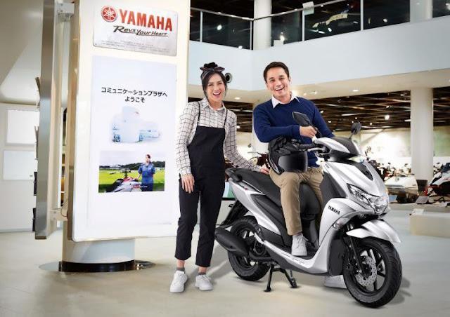 Semakin Amazing, Begini Penampakan Yamaha FreeGo S Version dengan Warna Baru