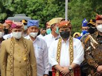 Marga Dantaran Beri Gelar Adat Erik Thohir, PKD: Semoga Menambah Khazanah Kekayaan Budaya Lamsel