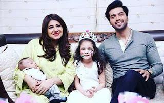 Fahad Mustafa wife and kids pics.Fahad Mustafa with beautiful Family
