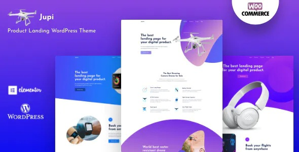 Best Product Landing WordPress Theme