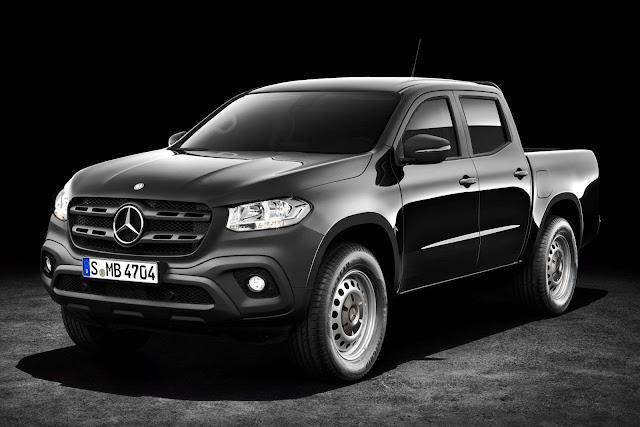 Mercedes-Benz Classe X ganha versão para frotistas