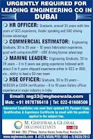 Engineering Company Job Vacancy Dubai