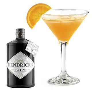 Cocktail con ginebra Hendricks : Naranja en Flor