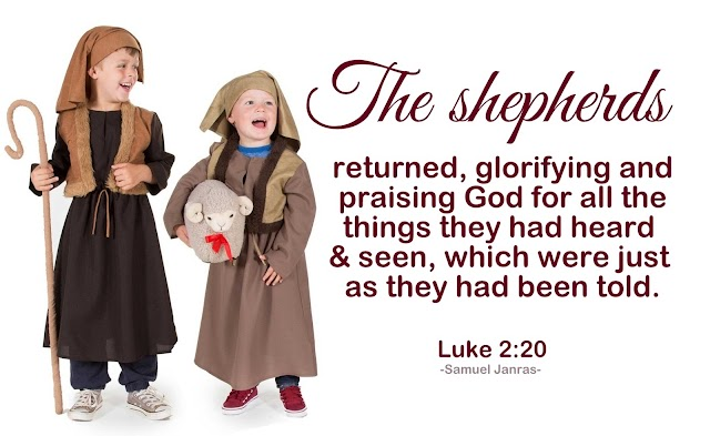 Shepherds Returned Glorifying Praising God