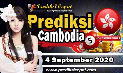 Prediksi Togel Cambodia 4 September 2020