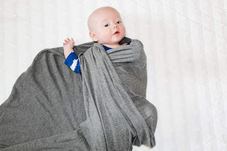 how to swaddle a baby step 4