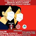 Cegah Covid 19, PA GMNI Kalbar Gelar Gerakan Sejuta Masker untuk Masyarakat Kalbar