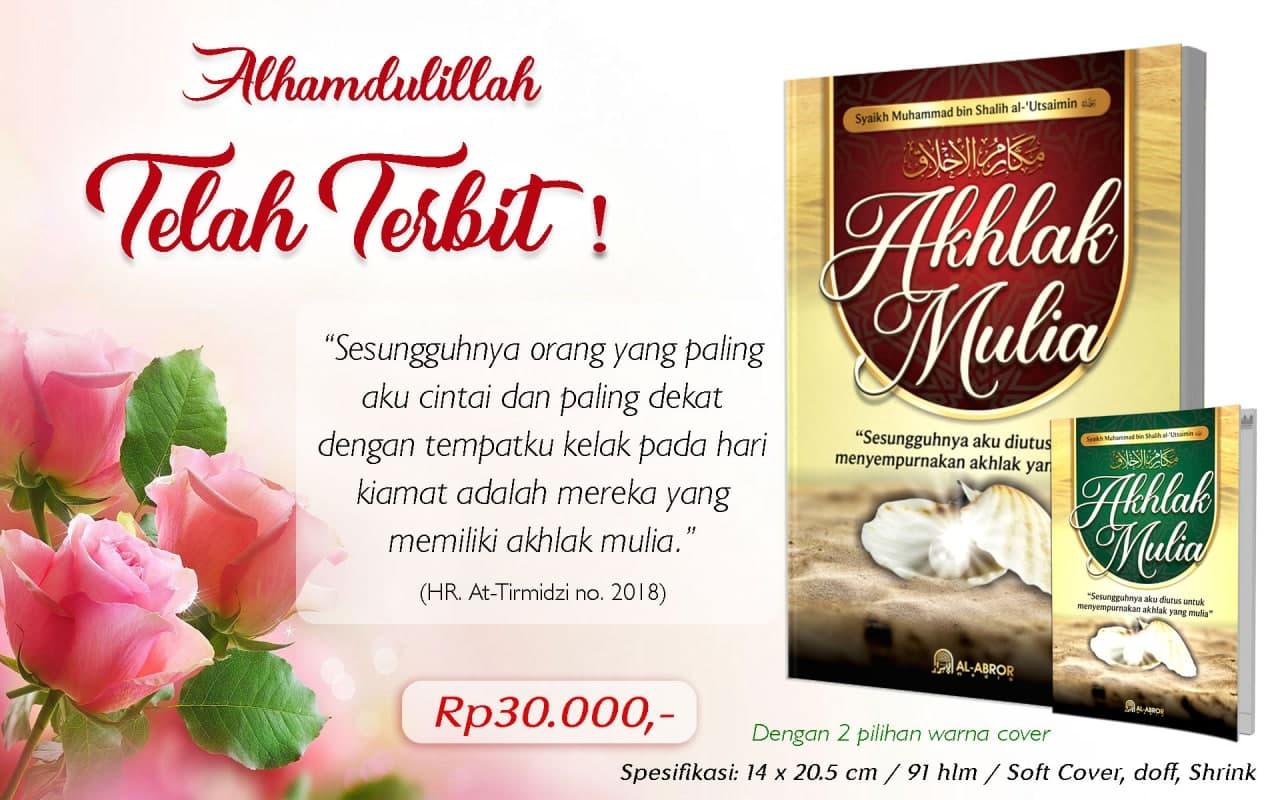 Buku Akhlak Mulia Al Abror Media Terjemah Makarimul Akhlak