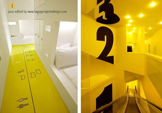 Interiorismo amarillo: Goli & Bosi hotel de Studio Up