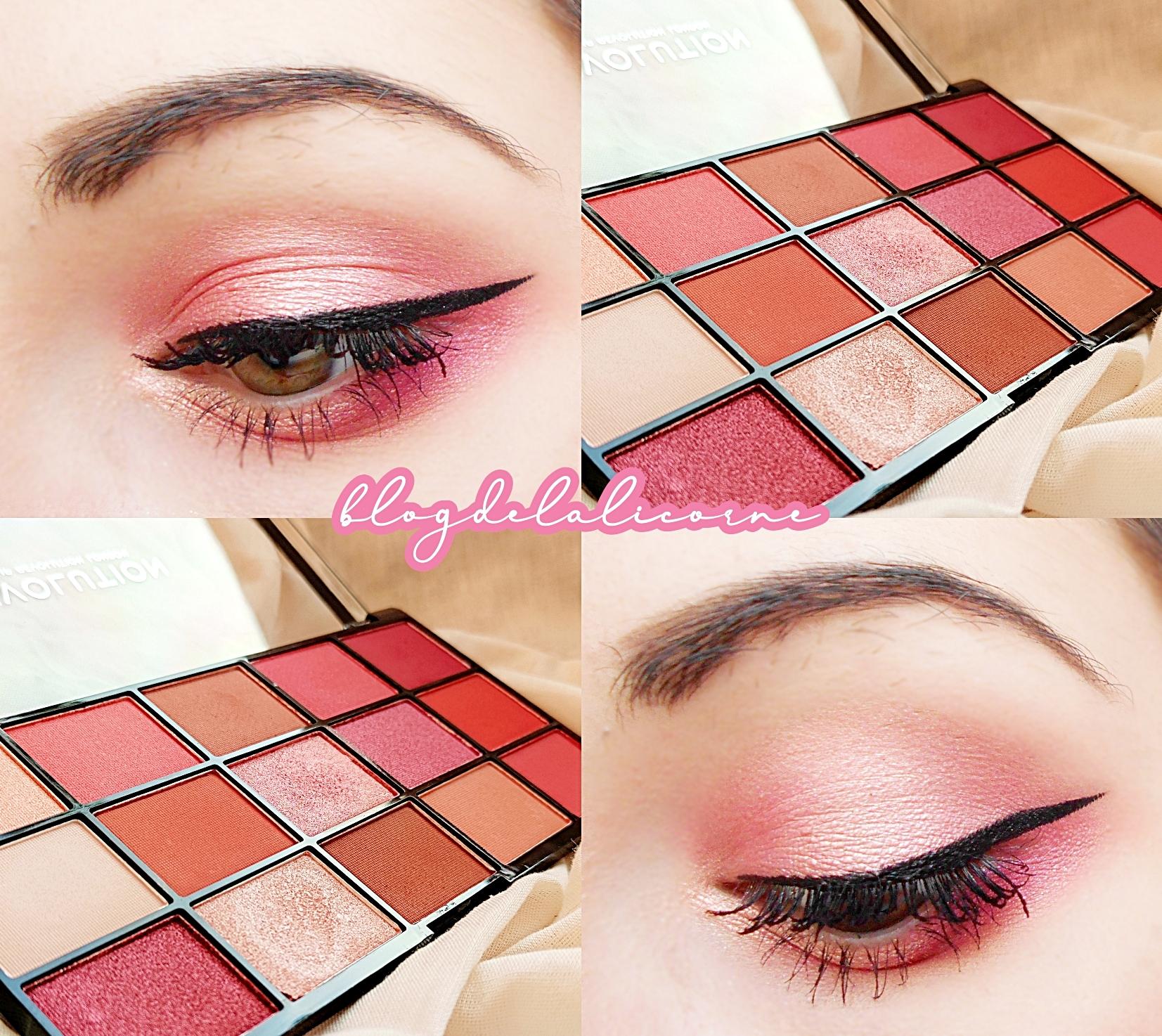 Makeup Revolution Newtrals 2 paletka očných tieňov recenzia