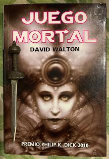 Portada del libro Juego mortal, de David Walton