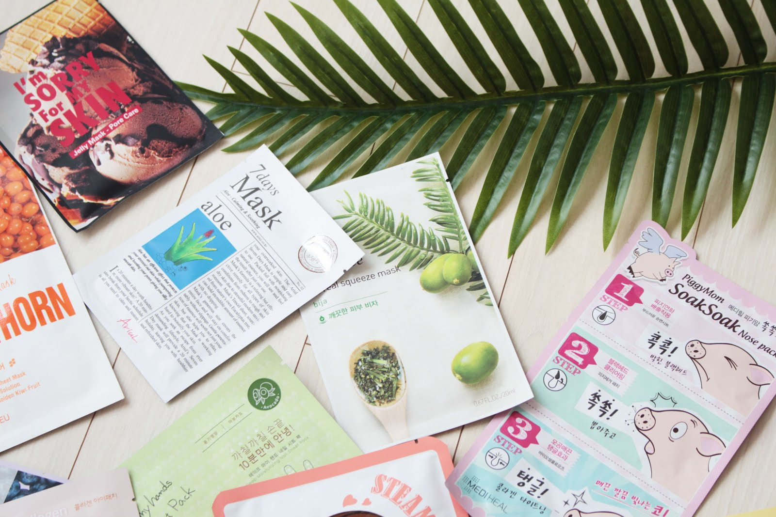 korean skincare blogger sheet masks kbeauty recommendations brands