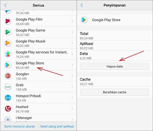 Cara Mengatasi Download Yang Berhenti / Tertunda di Play Store