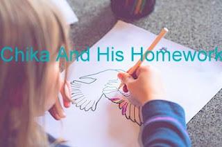 चिका और उसका होमवर्क || Chika And His Homework || Kids Stories In Hindi