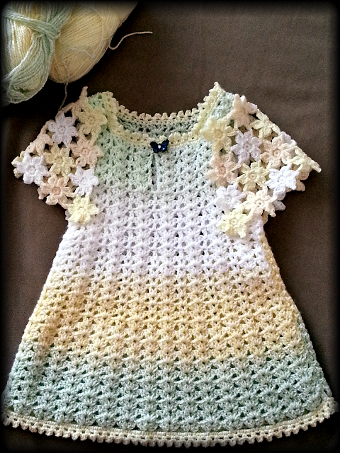 beautiful dress crochet yarn store. very beautiful stylish for girls ...