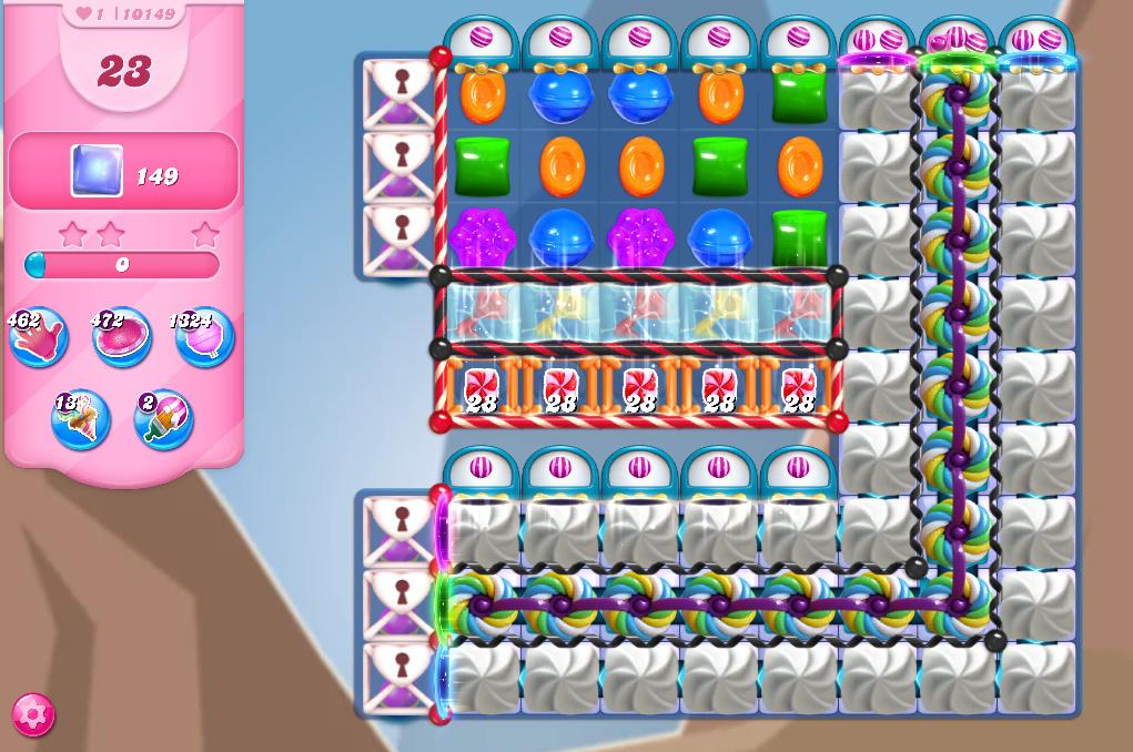 Candy Crush Saga level 10149