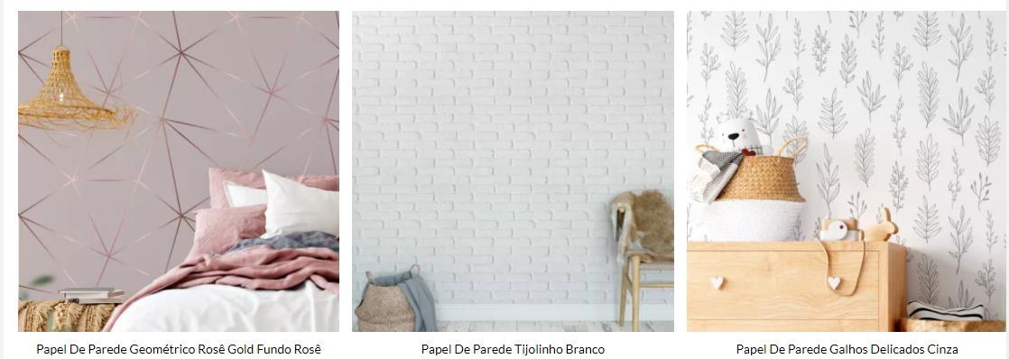 Dicas de como escolher o papel de parede para a sala