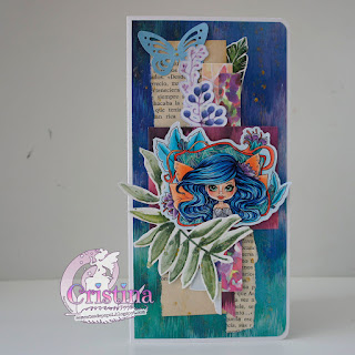 """Two notebooks, one with the new """"Spring Nouveau Arielle Fae"""", and the other with """"Amber Postal Punk""""."""