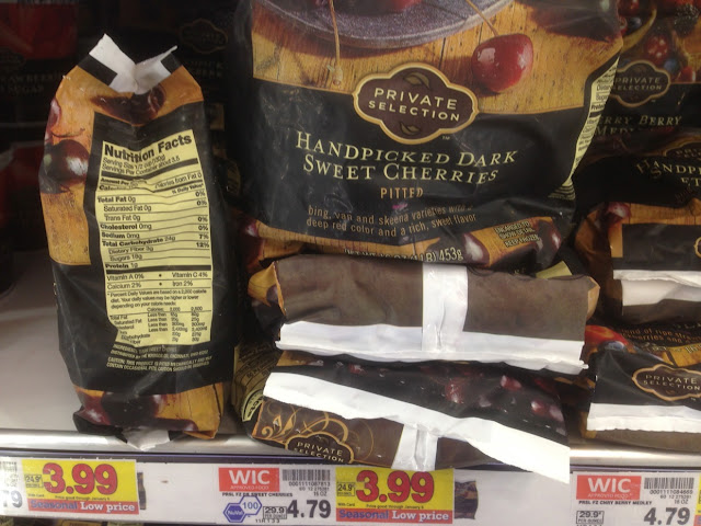 Dark Sweet Cherries, 16 oz, Private Selection - Kroger