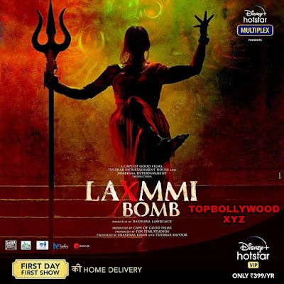 Laxmmi Bomb (2020) Full Movie Leaked by Tamilrockers in HD Quality for Free Download