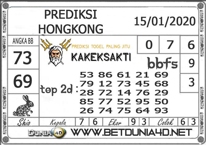 Prediksi Togel HONGKONG DUNIA4D 15 JANUARI 2020