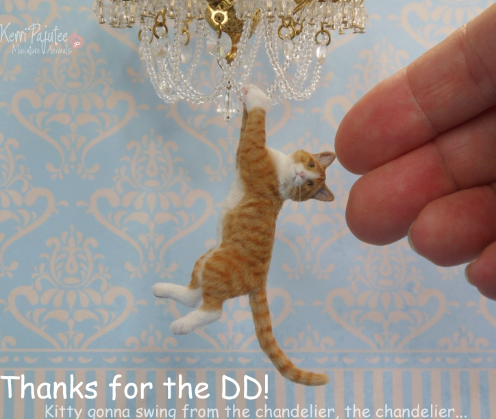 14-Thanks-for-the-DD-Kerri-Pajutee-Miniature-Sculpture-that-look-Real-www-designstack-co