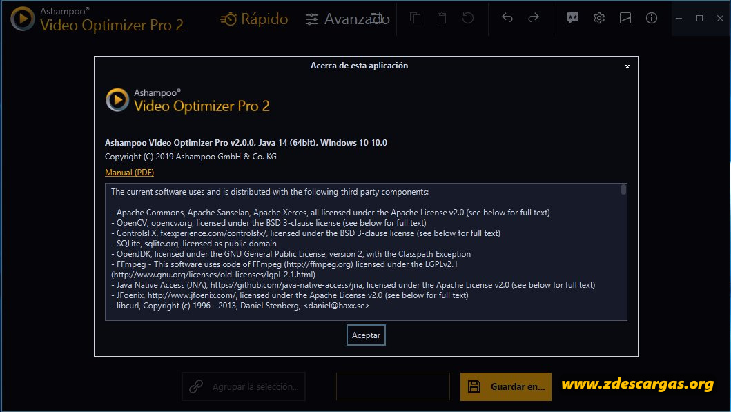 Ashampoo Video Optimizer Pro 2020 Full Español