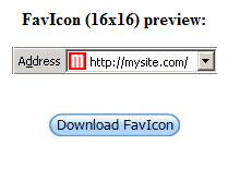 hasil membuat favicon website blog mazjit99.com