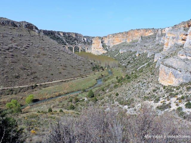 Las Hoces del río Riaza y su escondida ermita del Casuar