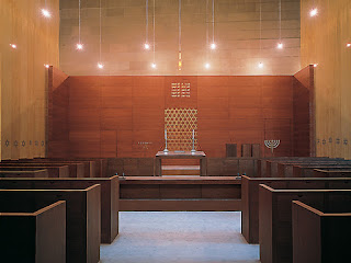 Interior of the New Synagogue in Dresden - © Roland Halbe