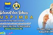 Ketua PW LPPNU NTB Mengucapkan Selamat dan Sukses Muspimda PKC PMII Bali Nusra