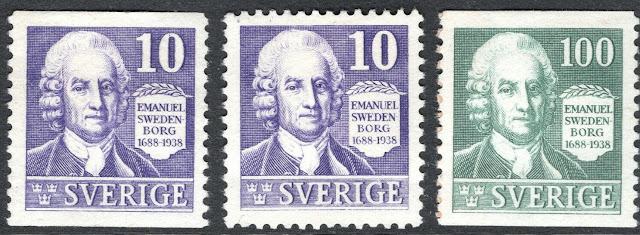 Sweden - 1938 Emanuel Swedenborg