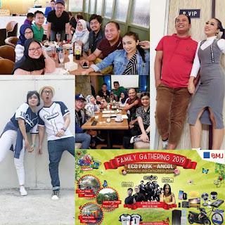 Artis Dangdut dan MC Acara Family Gathering