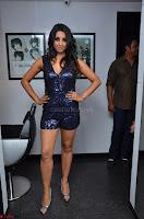 Sanjana looks happy in sparkling short Deep neck Purple Gown ~  Exclusive 63.JPG