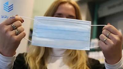 """السبب في وجود وجهين مختلفين """" الأبيض والأزرق"""" في الكمامات الطبية والطريقة الصحيحة لإرتداء الكمامة"""