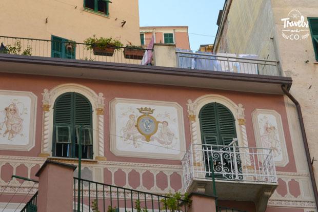 Cinque Terre en un dia que visitar fachadas Riomaggiore