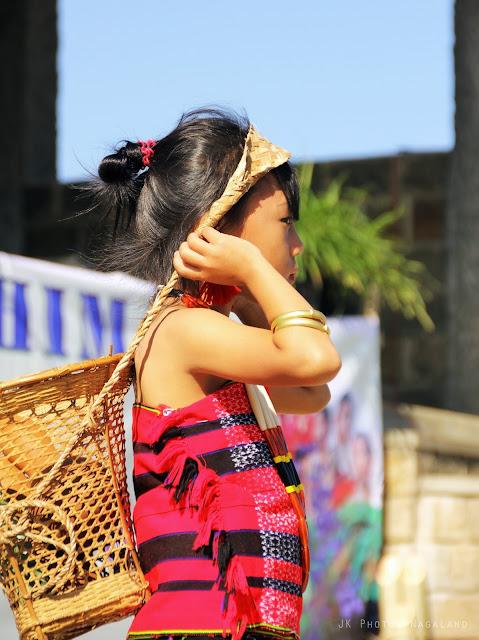 Lotha Tokhu Emong Photos Girl in traditional dress Nagaland Cultural Photos