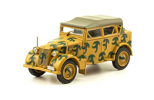 FIAT 508CM COLONIALE 1:43, voitures militaires de la seconde guerre mondiale